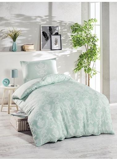 Eponj Home Junior Nevresim Seti Tek Kişilik Pure  Yeşil